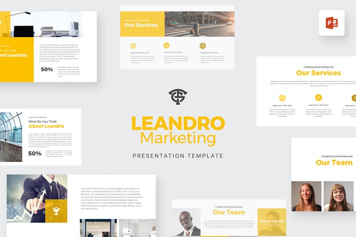 Thumbnail for Leandro Marketing - Powerpoint