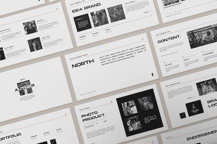 Keynote по каталогу North Brand Fasihon