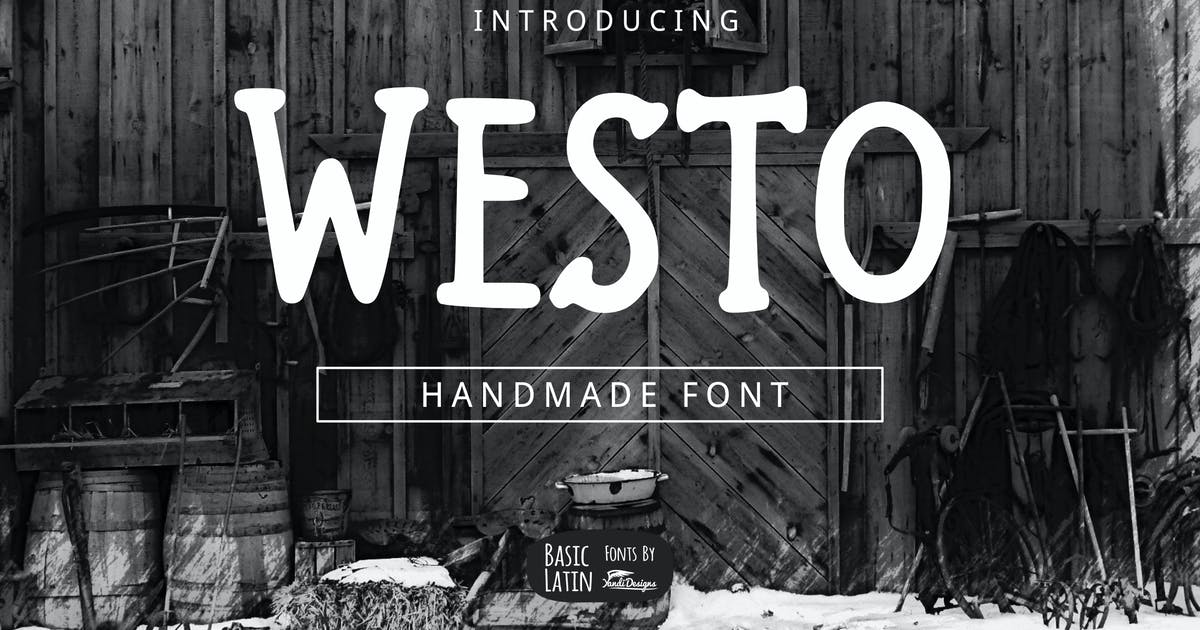 Download Westo Font by yandidesigns