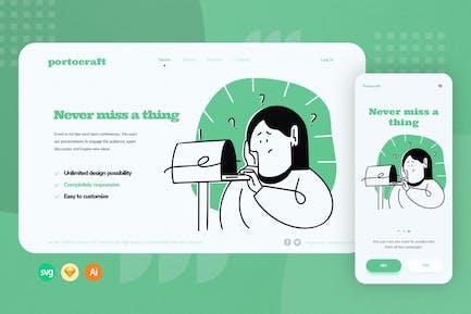 Inbox Web Onboarding Illustration
