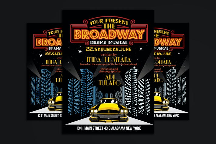 Thumbnail for Broadway Drama Musical Show