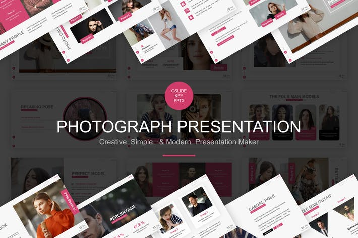 Thumbnail for Photograph Presentation Template