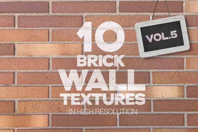 Brick Wall Textures x10 Vol.5
