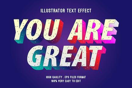 modern gradient text effect