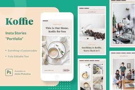 Koffie Insta Stories - Portfolio