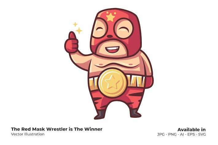 Борец Красной Маски — Победитель