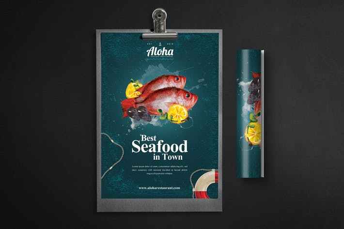 Thumbnail for Seafood Flyer