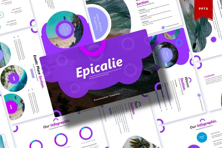 Thumbnail for Epicalie | Powerpoint Template