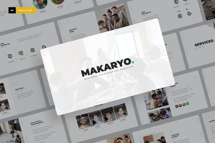 Thumbnail for Makaryo - Corporate Business Google Slides