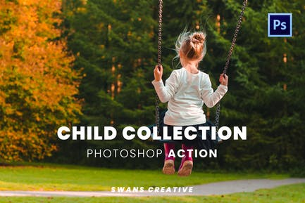 Child Collection Photoshop Action