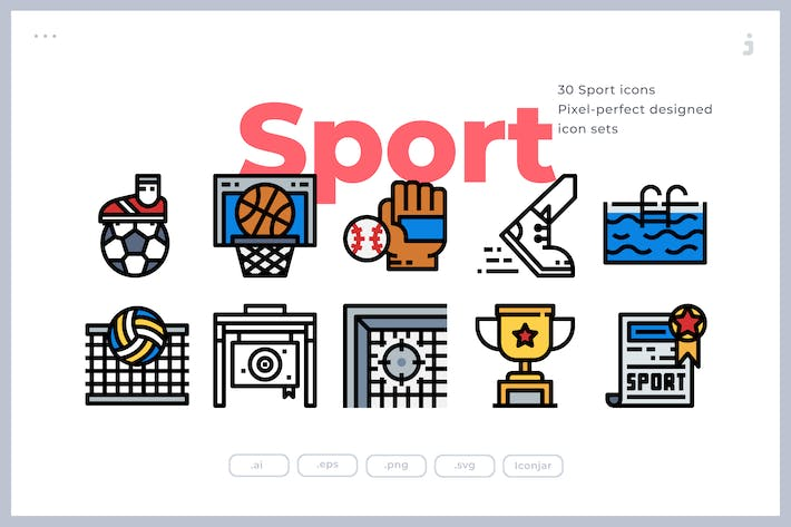 Thumbnail for 30 Sport Icons