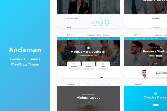 Thumbnail for Andaman - Creative & Business WordPress Theme