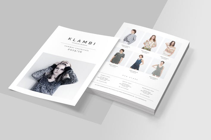 Thumbnail for Simple Fashion Flyer