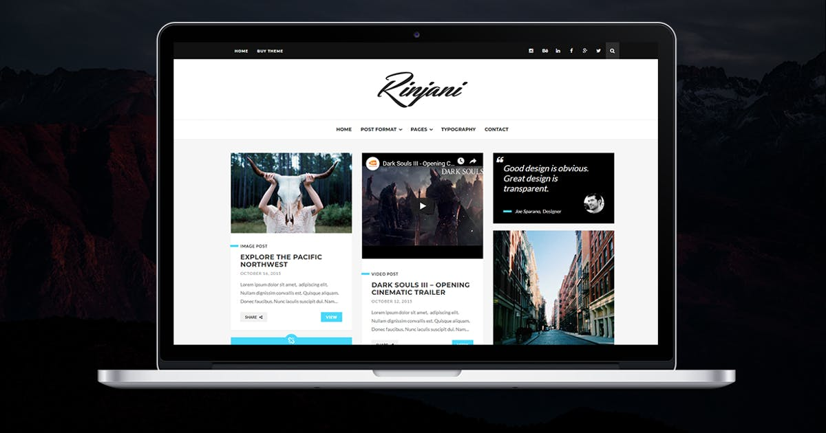 Download Rinjani by themesawesome
