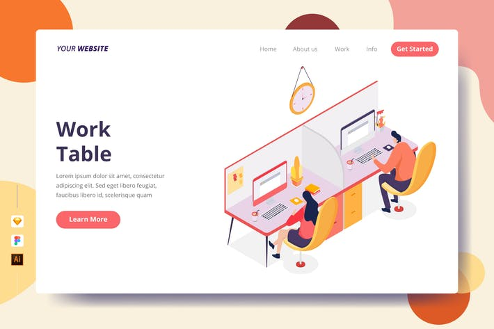 Thumbnail for Work Table - Landing Page