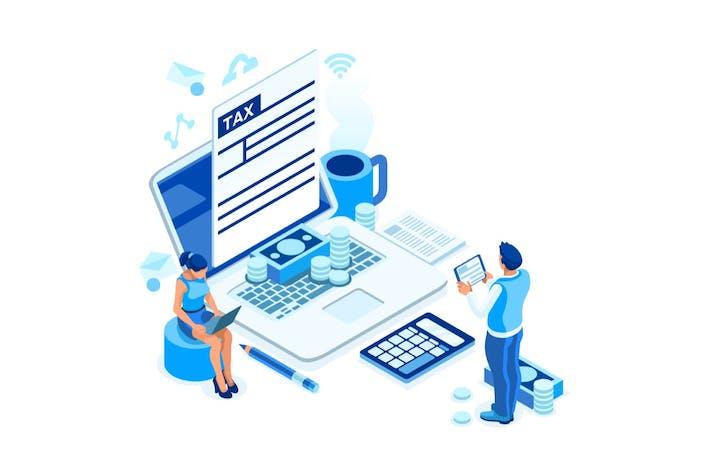 Taxation Business Concept Design Fund