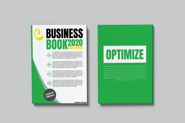 Thumbnail for Business Book - Mockup