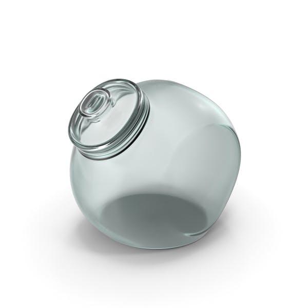Glaskugelglas geschlossen