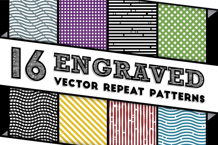 Thumbnail for Engraved Vector Patterns