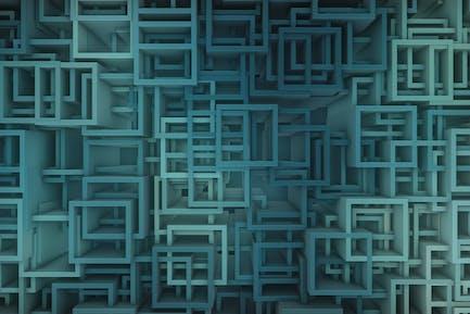 Square Tubes Background