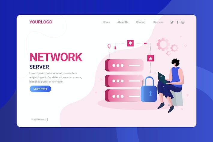 Netzwerkserver - Zielseite
