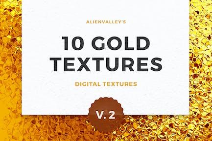 10 Gold Textures Vol. 2