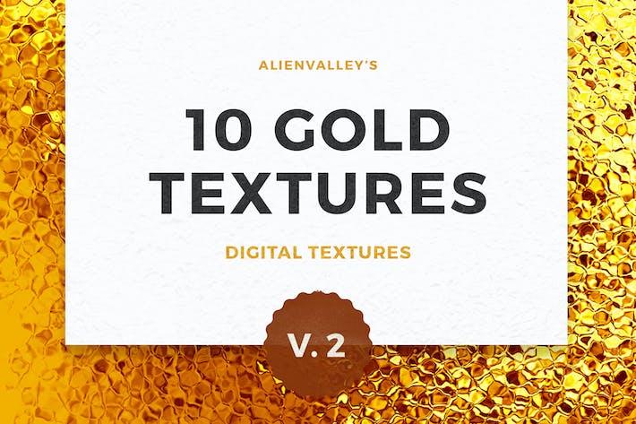 10 Gold Texturen Vol. 2