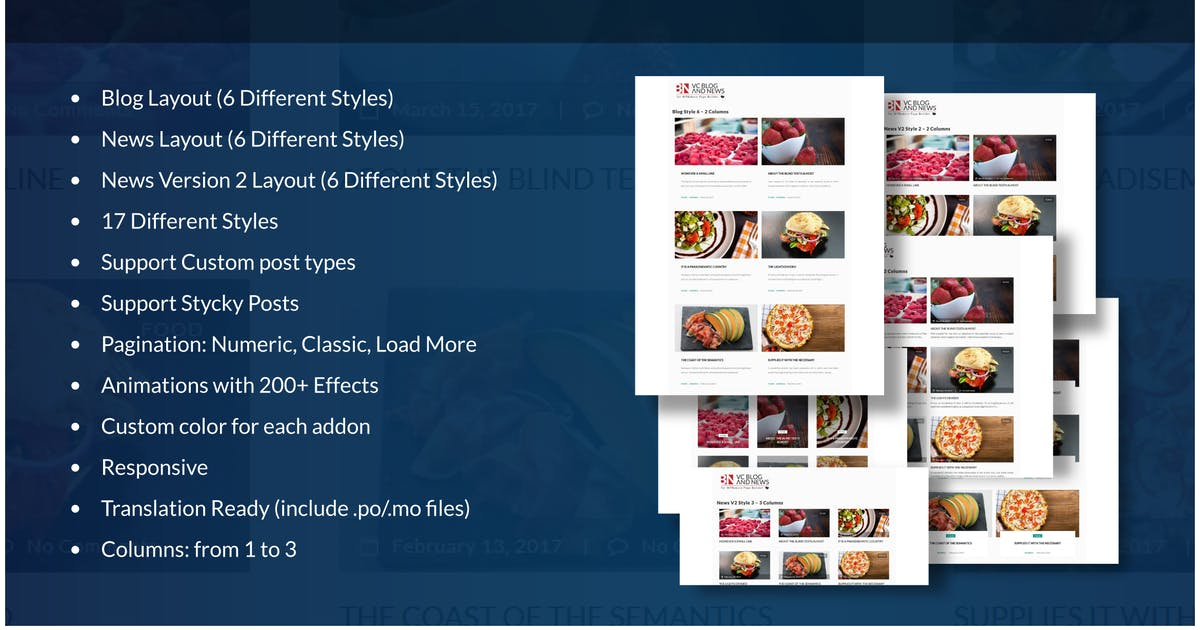 Download Blog and News Addons for WPBakery Page Builder WP by ad-theme