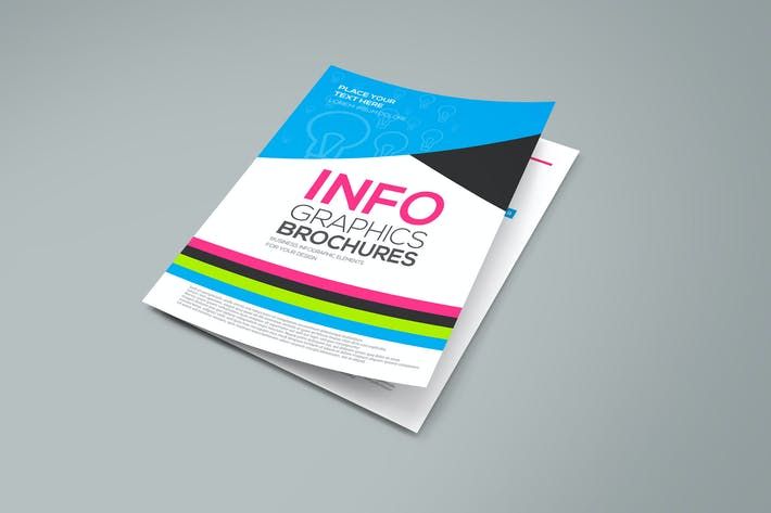 Cover Image For Business infographics elements for corporate