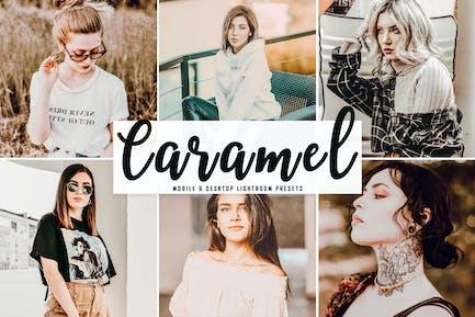 Caramel Mobile & Desktop Lightroom Presets