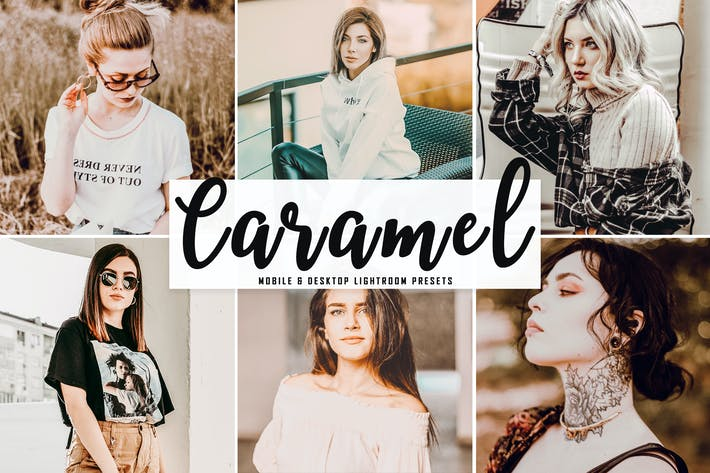 Thumbnail for Caramel Mobile & Desktop Lightroom Presets