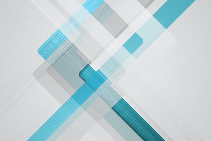 Thumbnail for Blue grey geometric abstract tech background