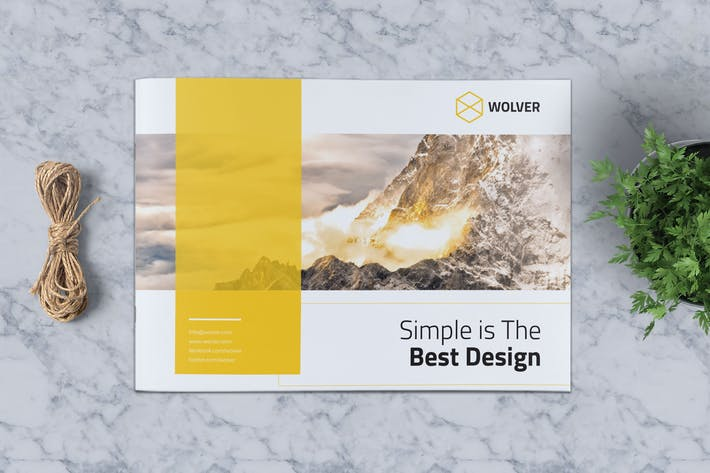 Thumbnail for Creative Brochure Template Vol. 09