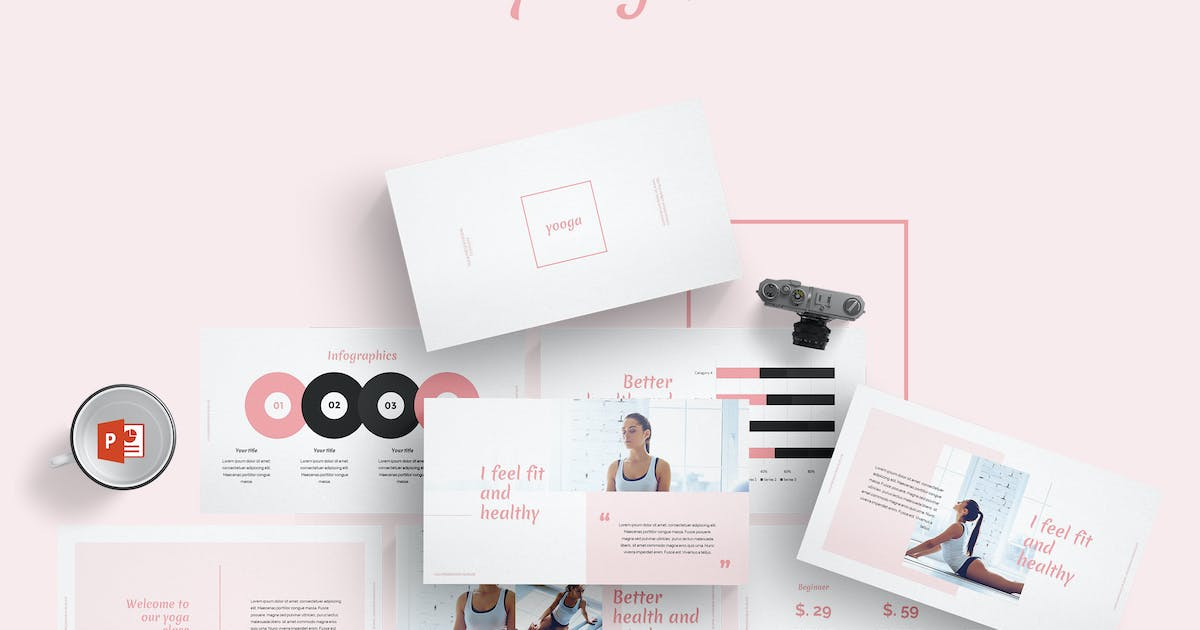 Yooga Powerpoint Templates by Unknow