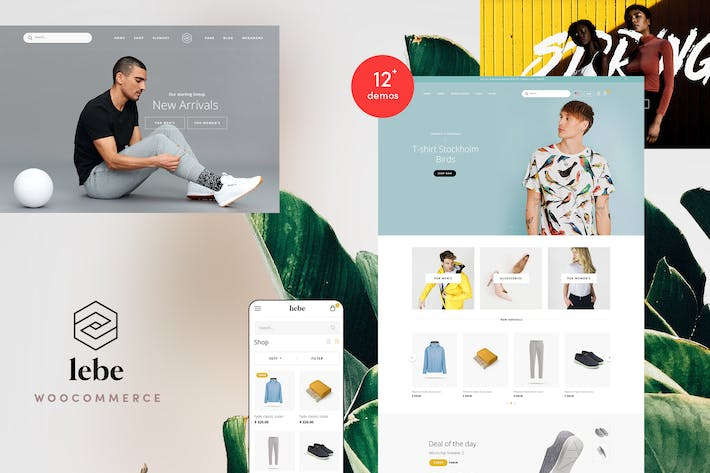 Thumbnail for Lebe - Multipurpose WooCommerce Theme