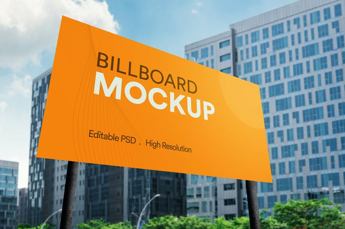 Thumbnail for Advertisement Billboard Mockup
