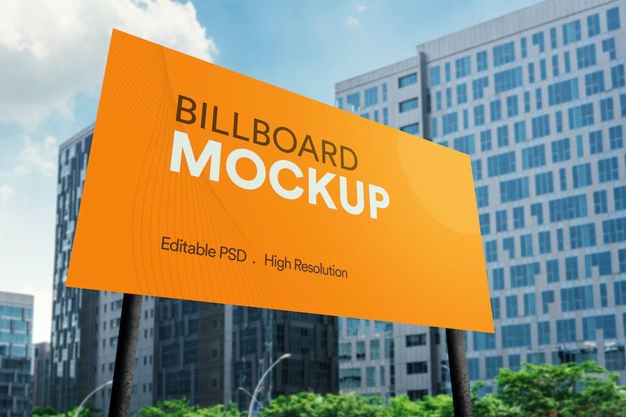 Advertisement Billboard Mockup