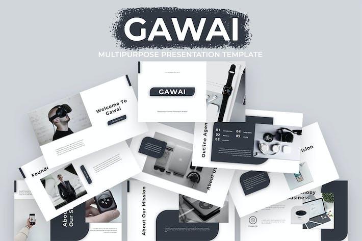 Thumbnail for Гаваи - Многоцелевой Бизнес Google Слайд