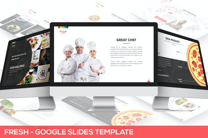 Thumbnail for Fresh Google Slides Template