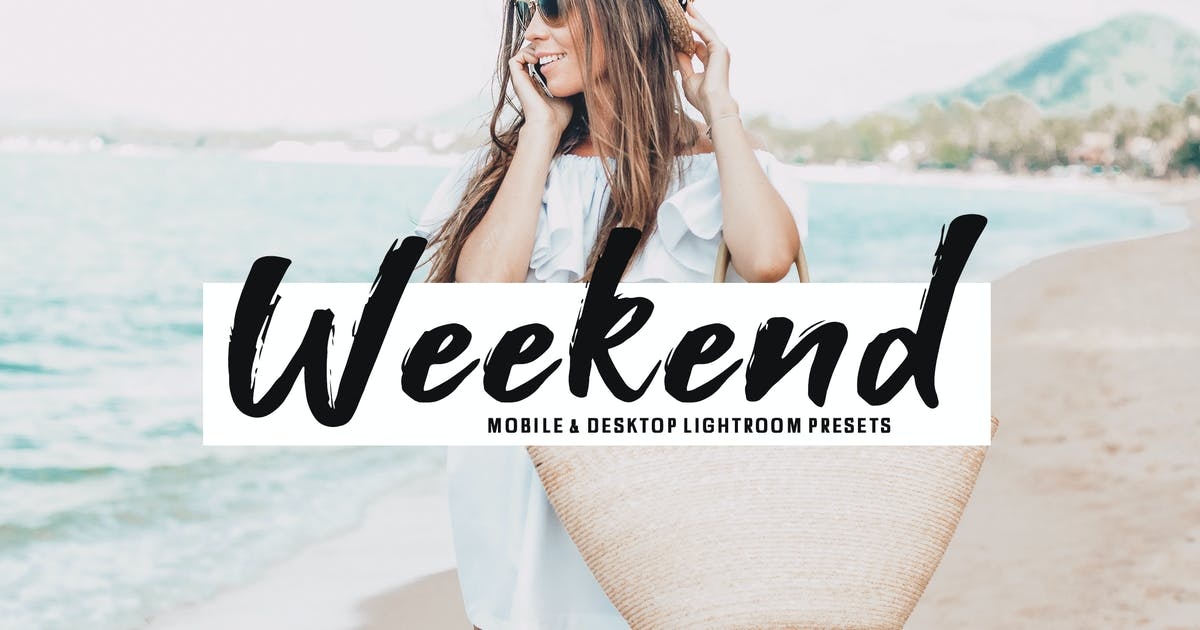 Weekend Mobile & Desktop Lightroom Presets by creativetacos