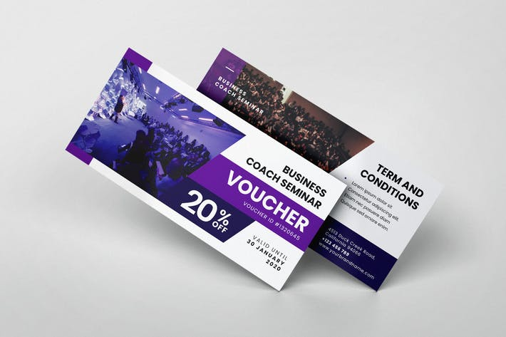 Business Coaching Seminar AI and PSD Gift Voucher