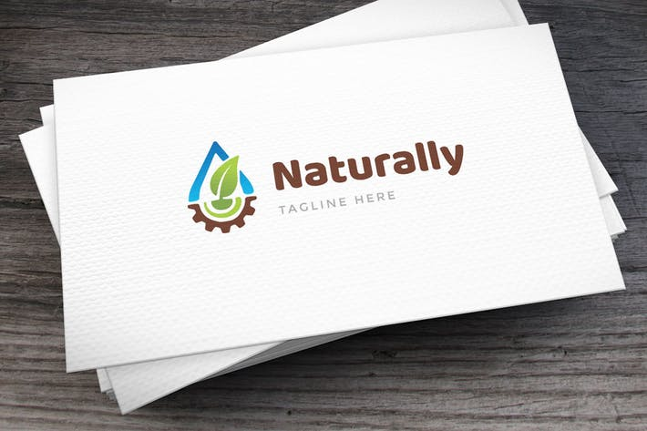Nature Works Logo Template