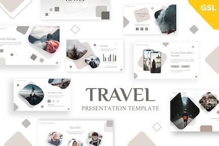 Travel - Holiday Google Slides Template