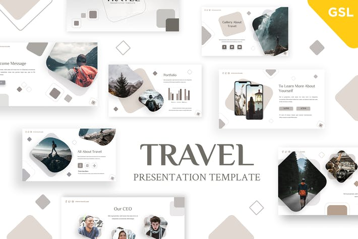 Thumbnail for Travel - Holiday Google Slides Template