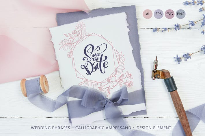 Thumbnail for Wedding Vector Calligraphy