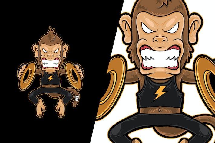 Вектор иллюстрация Monkey Metal