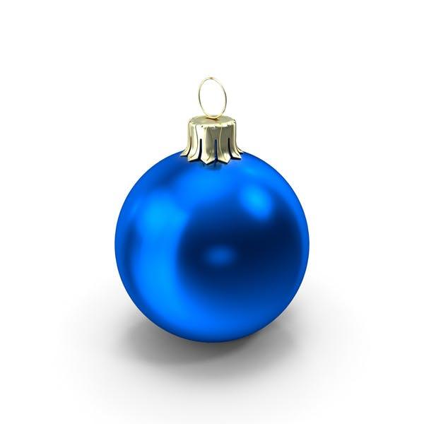 Thumbnail for Standing Blue Christmas Ornament