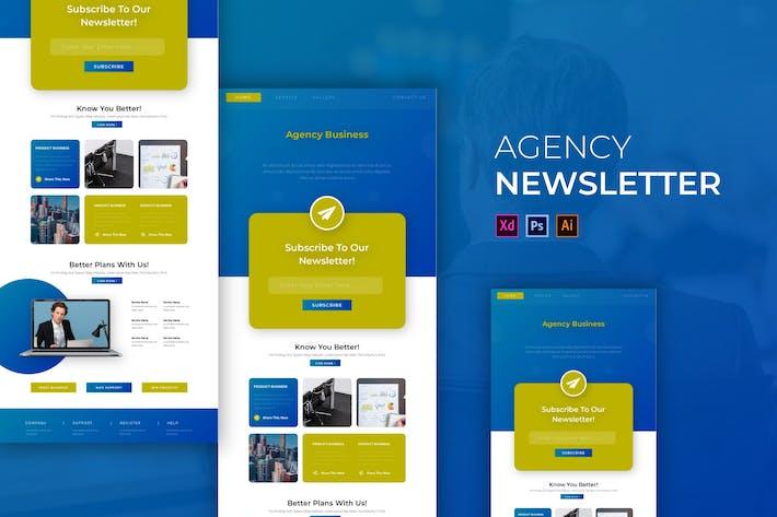 Thumbnail for Agency Business | Newsletter Template
