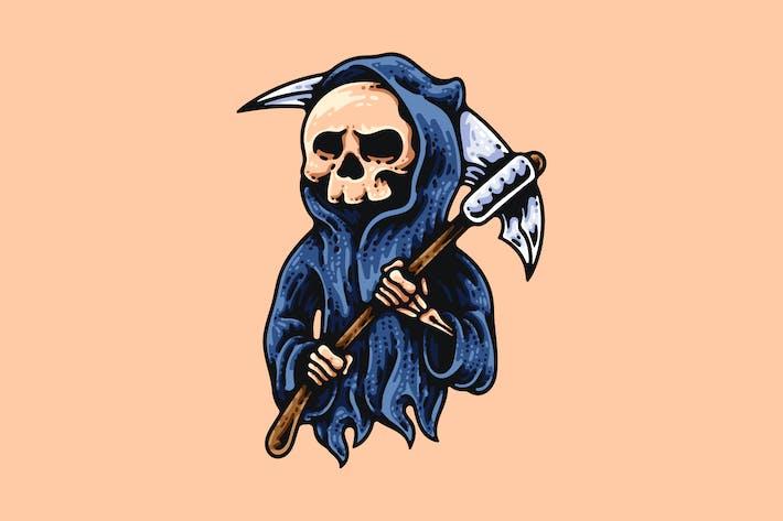 Thumbnail for Grim Reaper And Scythe