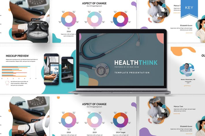 Healthththink - Шаблон Keynote